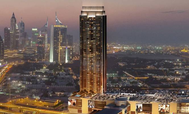 Emaar Downtown Views Elevation