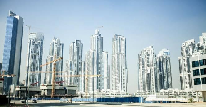 Dubai Executive Tower J Elevation