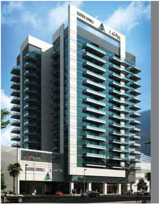 Al Seeb Real Estate Development Al Safeer Tower 2 Elevation