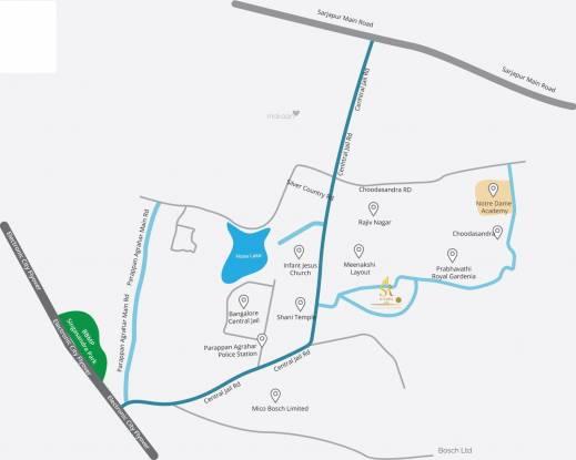 SR Suvarna SR Suvarna Location Plan