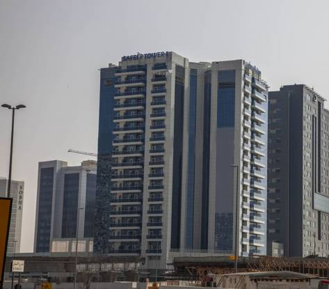 Al Seeb Real Estate Development Al Safeer Tower 1 Elevation