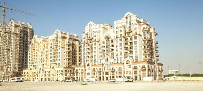 Dubai Classic European Tower Elevation