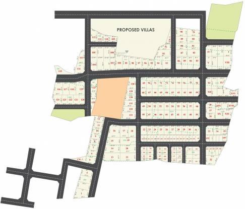 Premier Aishwaryam Garden Layout Plan