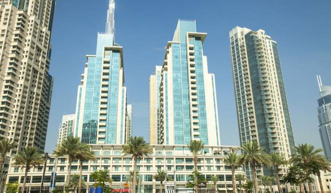 Emaar Boulevard Central Elevation