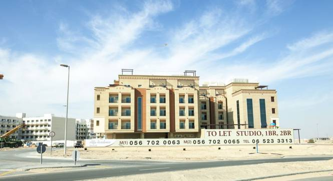 Al Misk Alfa Residence Elevation