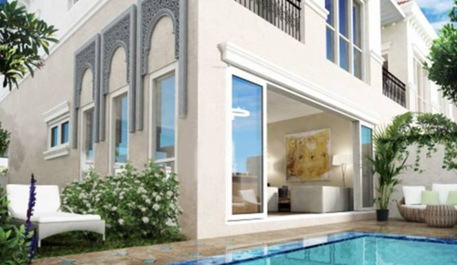 Jumeirah Alandalus Townhouses Elevation