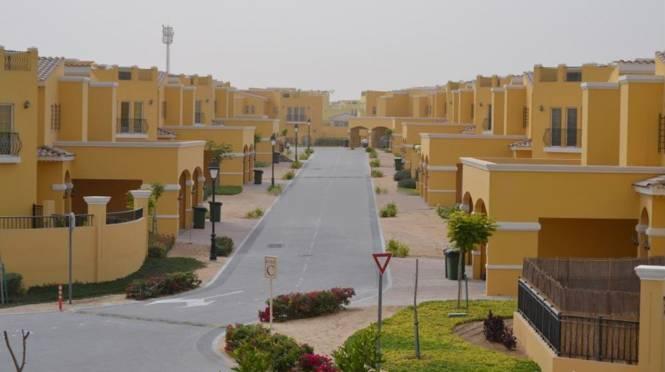 Dubai Al Waha Villas Elevation