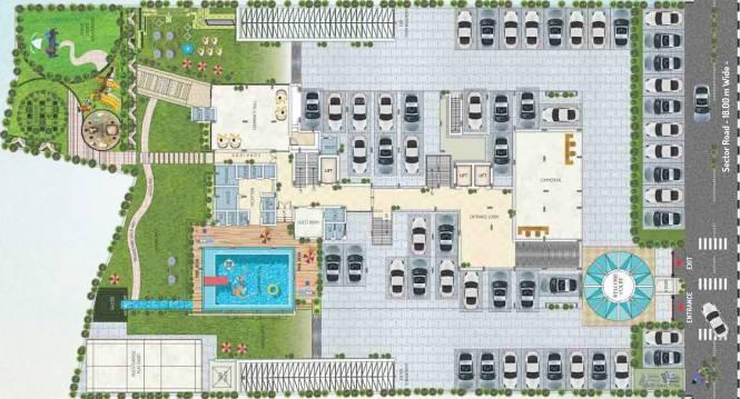 Kotecha Royal Regalia Cluster Plan