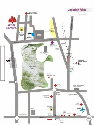 Ashiana Housing Vrinda Gardens Phase 3B Location Plan
