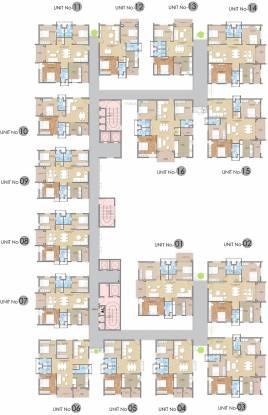 HSR Sri Ramachandra Manor Cluster Plan