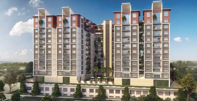 HSR Sri Ramachandra Manor Elevation