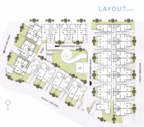 Kavya Ashtvinayak 36 Layout Plan