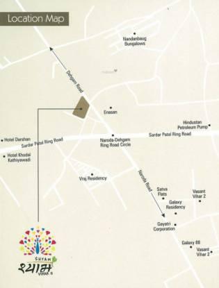 Shyam Vihar II Location Plan