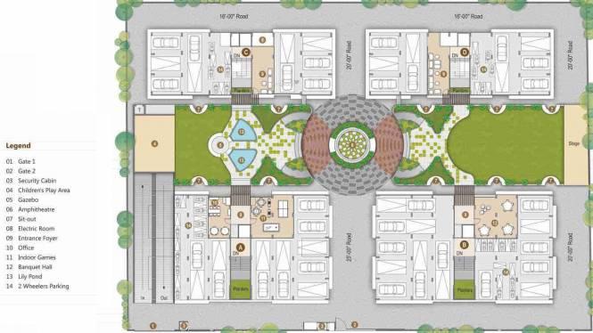 Shree Ram Avadh Dreamland Layout Plan