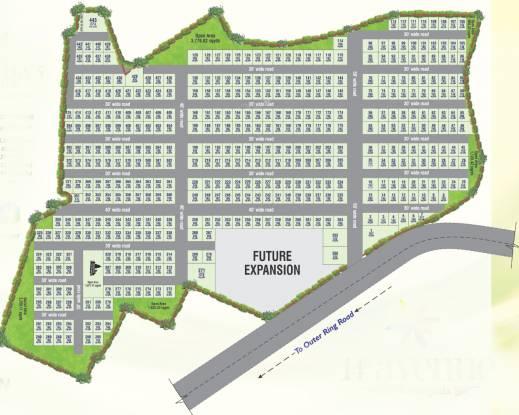 Asrithas 14th Avenue Layout Plan