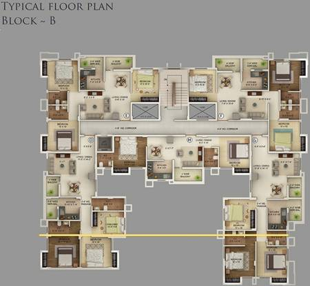 Noble Trexim Pearl Cluster Plan