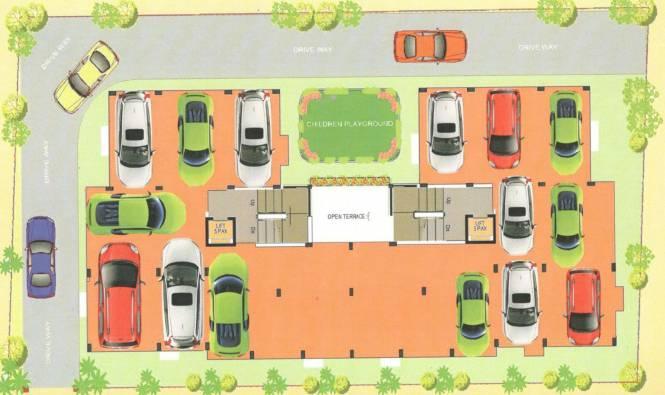 SPS Vsun Aavas Residency Cluster Plan