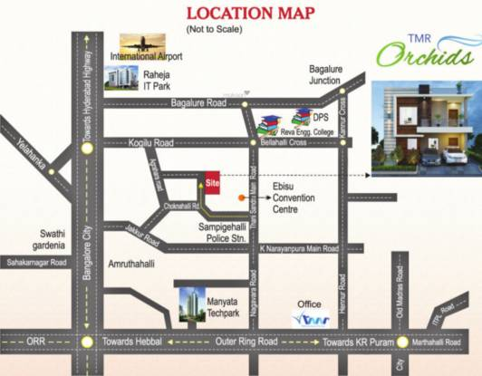 TMR Orchids Location Plan