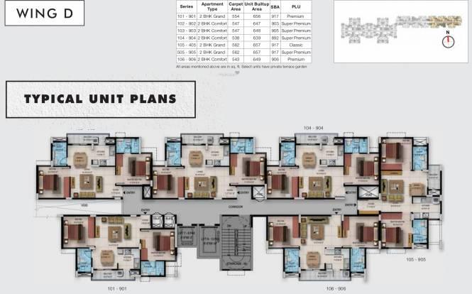 Provident Neora Cluster Plan