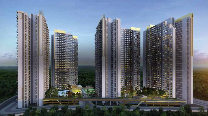 Amanora Gold Towers Elevation