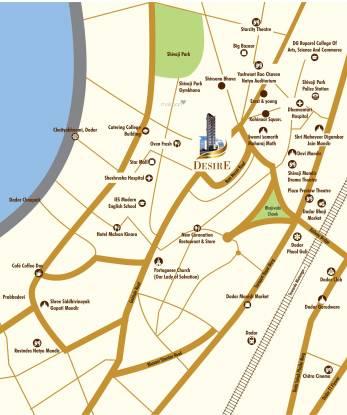 Dotom Desire Location Plan