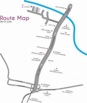 LML Eterna Location Plan