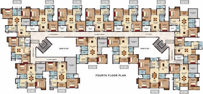 Sristi Divinity Cluster Plan