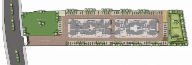 Kamdhenu 7th Heaven B Bldg Phase 1 Layout Plan