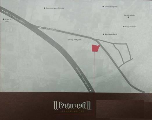 Shanti Shikshapatri Bunglows Location Plan