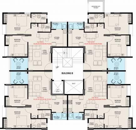 Kiran Shubharambh Cluster Plan