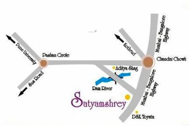 Satyam Shrey B Location Plan