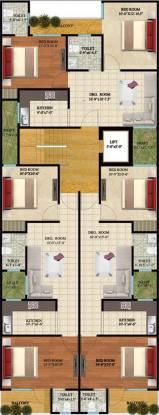 SSG Yash Residency 2 Cluster Plan