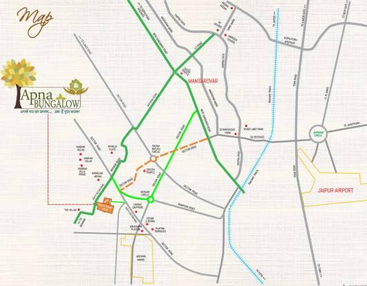 Abhinandan Apna Bungalow Location Plan