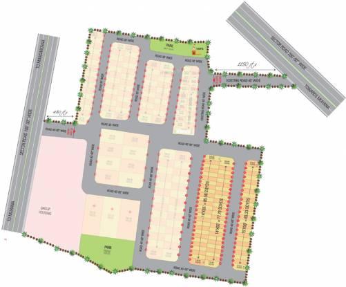 Abhinandan Apna Bungalow Site Plan