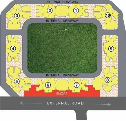 Raunak City Sector IV D9 Layout Plan