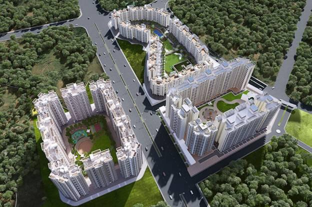 Raunak City Sector IV D9 Elevation