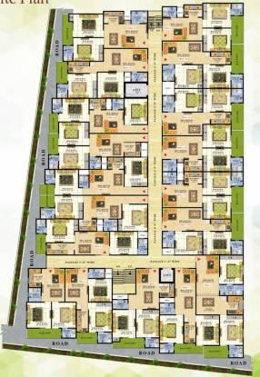 Satyam Paradise Site Plan