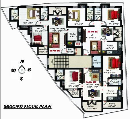 Sivarams Meghna Cluster Plan