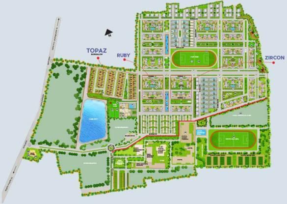 Gems City Villa Master Plan