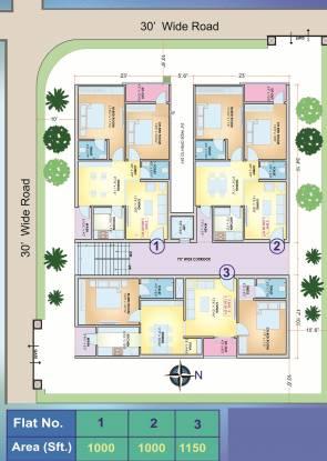 K K Enclave Cluster Plan