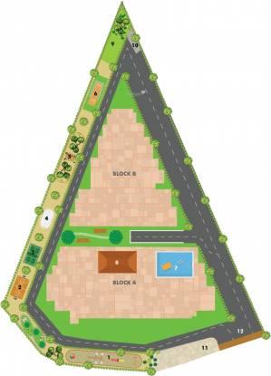 Jhanavi Capetown Heights Layout Plan
