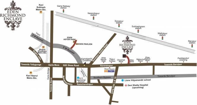 Eden Richmond Enclave Location Plan