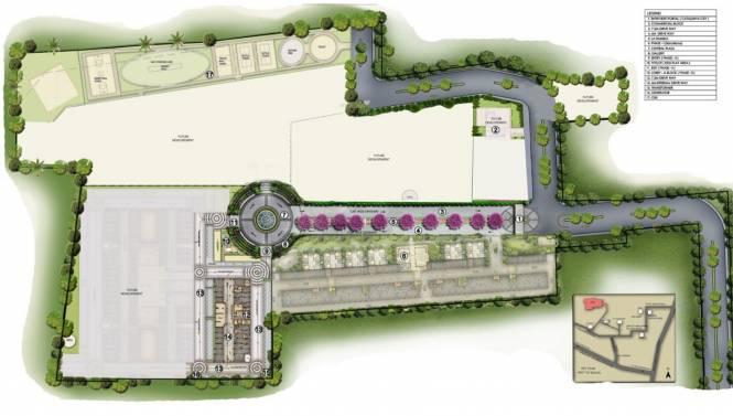 XS Catalunya City Flamenco Site Plan