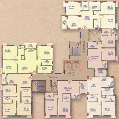 Banyan The Sky Garden Cluster Plan