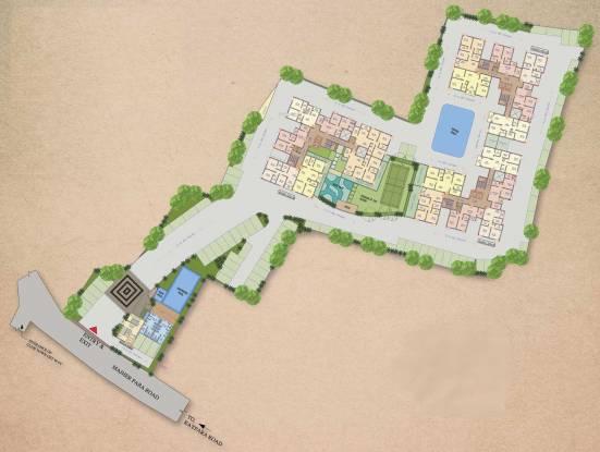 Banyan The Sky Garden Site Plan