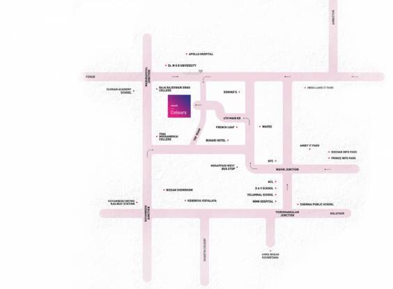 Nova Colors Location Plan