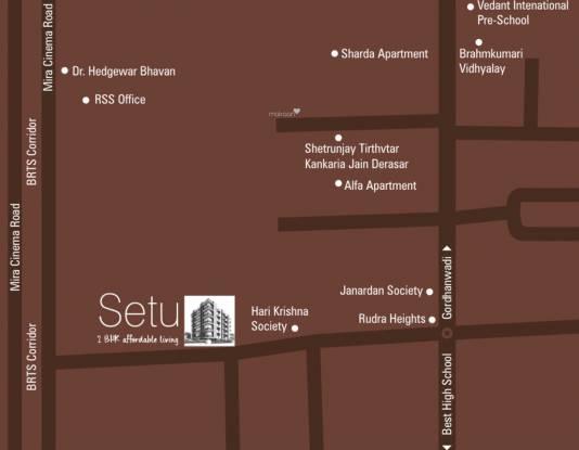 Sarovar Setu Location Plan