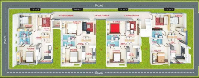 Nirmala Residency Site Plan