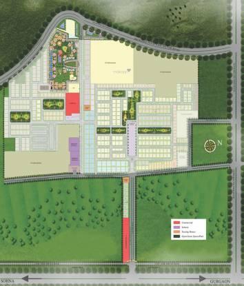 Supertech Montana View Site Plan