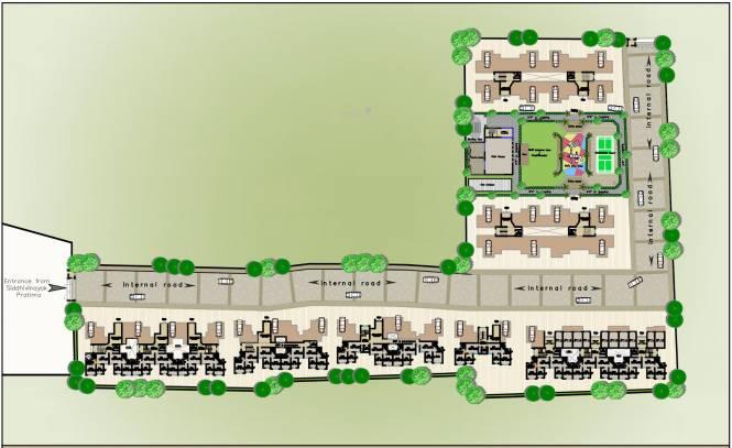Siddhivinayak Riddhima Layout Plan
